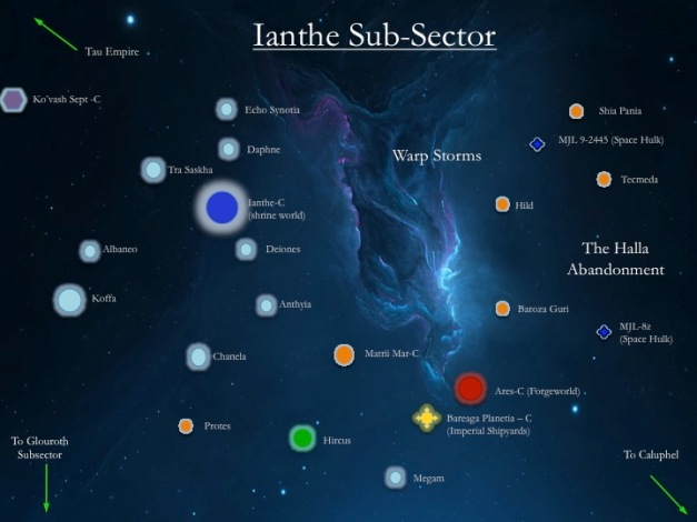 Ianthe Subsector
