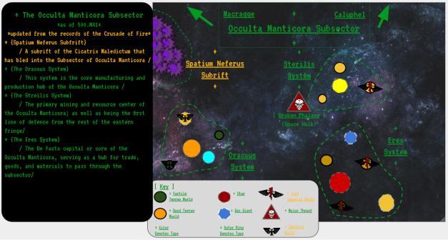 occulta manticora subsector