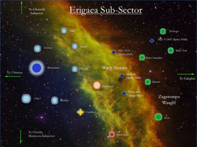 Erigaea Subsector